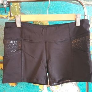 Form fitting sporty shorts!
