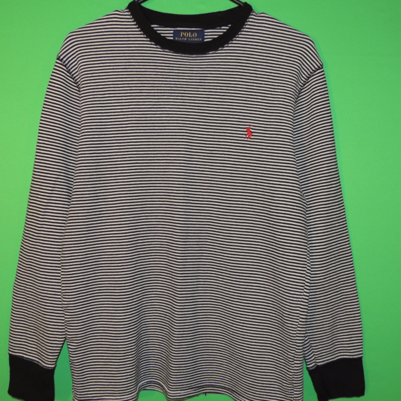 Polo by Ralph Lauren Other - Polo Ralph Lauren Men's Large Striped Sleep Shirt