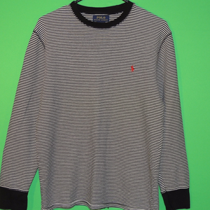 Polo by Ralph Lauren Shirts - Polo Ralph Lauren Men's Large Striped Sleep Shirt