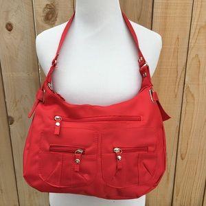 Handbags - 🆕 Red Multi Pocket Bag
