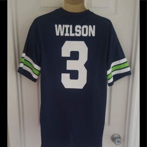 online store 142a3 2c805 Seattle Seahawks Russell Wilson football jersey NWT