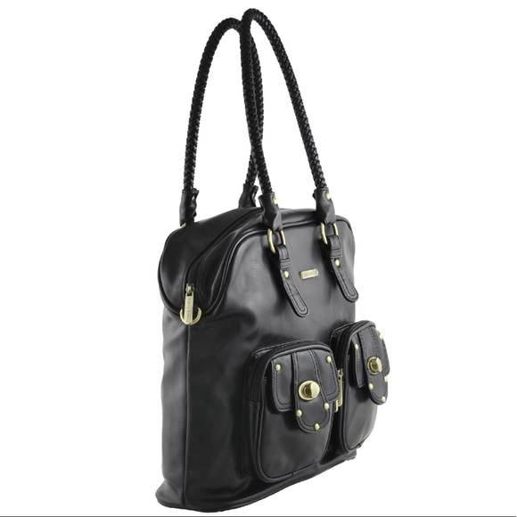 53 off timi leslie handbags timi leslie rachel diaper bag black from jaime 39 s closet on. Black Bedroom Furniture Sets. Home Design Ideas