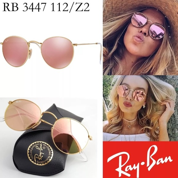 7f38b77341 ... norway free shipping ray ban round flash lenses pink 1c19c 00897 b5ead  81e2e
