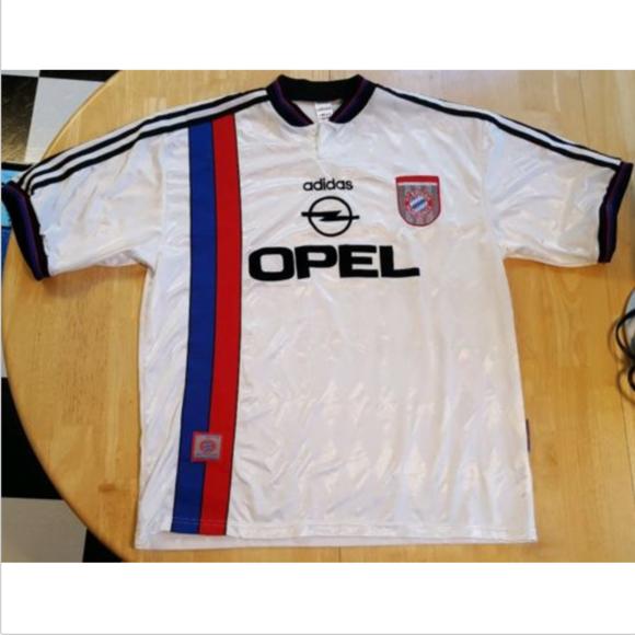 d2babe085 adidas Other - ADIDAS FC Bayern München EV Munich Opel Jersey