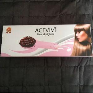 Acevivi Hair Brush Straightener
