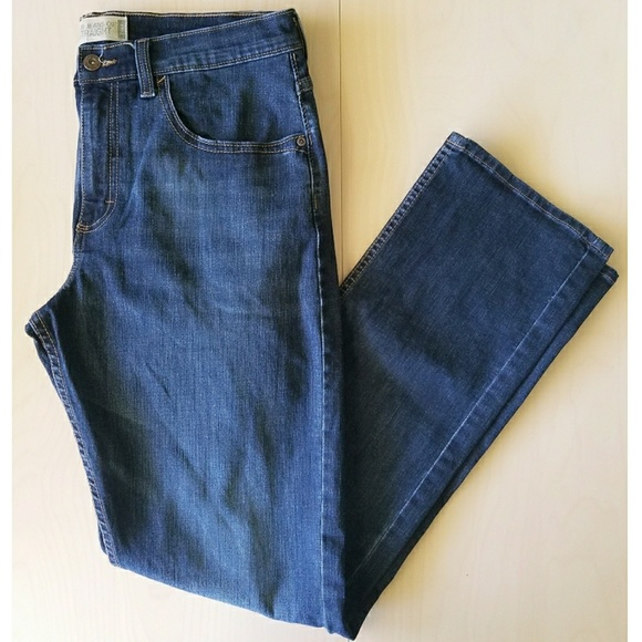 Wrangler - Wrangler Mens Jeans Slim Straight Dark Wash ...