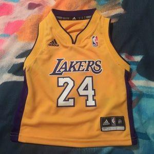 Kobe Bryant toddler Lakers jersey