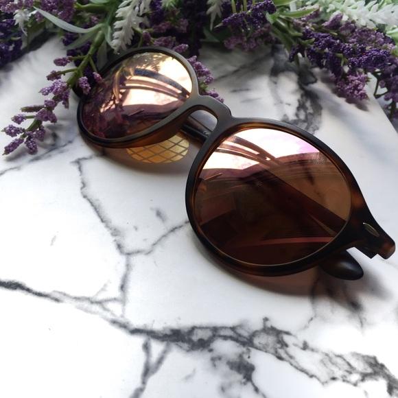 353002e004 RayBan ROUND LITEFORCE RB4237 Mirrored Sunglasses.  M 596908b27f0a0521db001258