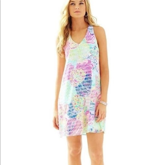 7e65063c4726 Lilly Pulitzer Dresses & Skirts - Lilly Pulitzer Montego Swing Dress Roar  of the Sea