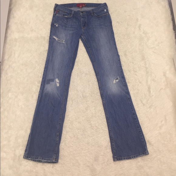 Hollister - Hollister distressed blue jeans size 7 from ...