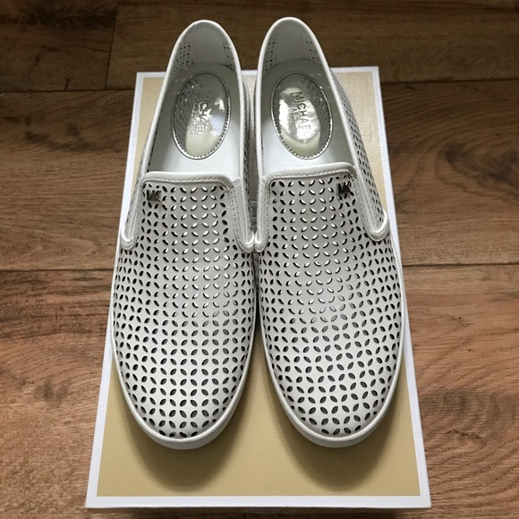 88d7ba1e309f6 Michael Kors Olivia Slip-On Sneakers