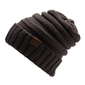 Accessories - Brown knitted hat
