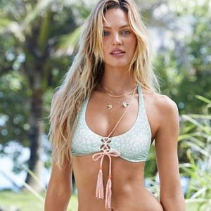 FINAL DROP Victoria's Secret lace up bikini top