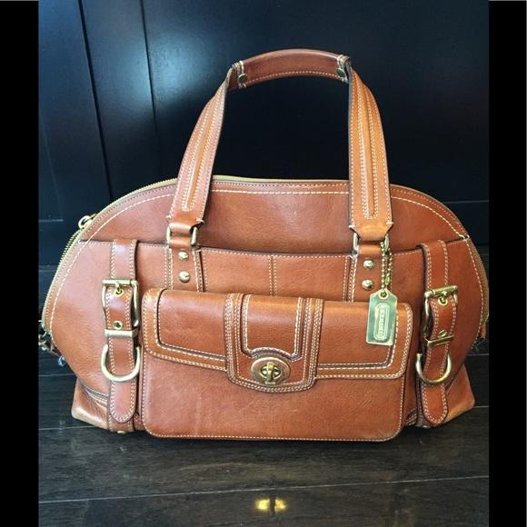 b68a25861 Coach Bags | Miranda Vintage Satchel Bag 11085 | Poshmark