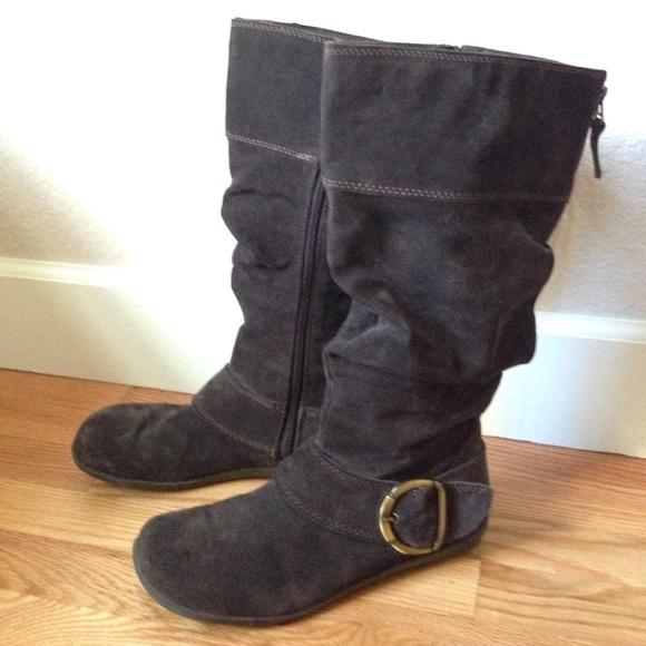 28ebd5cf06d White Mountain Pinwheel Brown Suede Boots