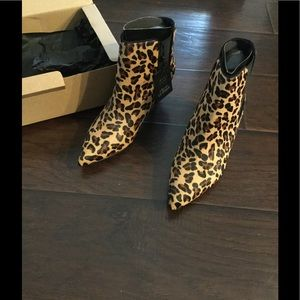 86e111cac99c Zara Shoes | Nwt Pointed Leopard Boots | Poshmark