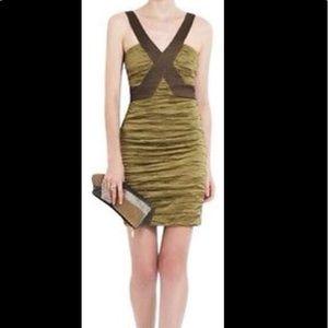 BCBGmaxazria Ruching Mini Dress