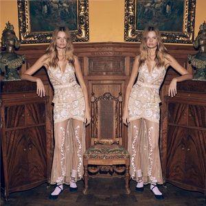 For Love & Lemons Mallorca Maxin Dress