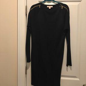 Michael Kors navy blue sweater dress