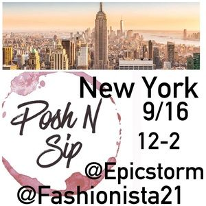 Other - NYC September 16, 2017 Posh & Sip!