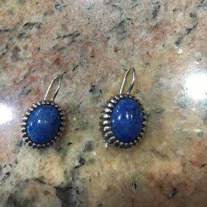 Jewelry - Sterling Lapis earrings