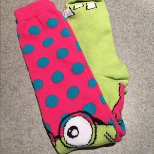 b78e965ae Accessories - Funny knee high socks NWOT 2 pairs