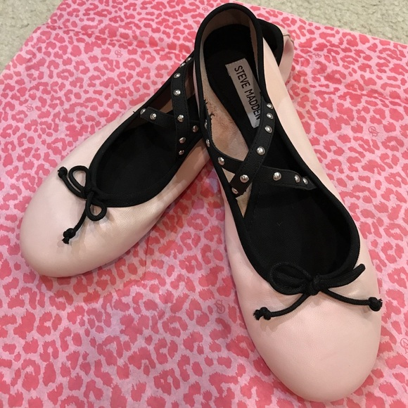 787d5264ee8 Only Today🎀 Steve Madden baby pink ballet flat NWT