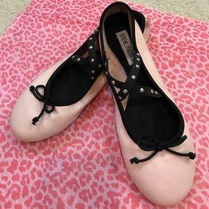 Pretty & Flirty Steve Madden baby pink ballet flat