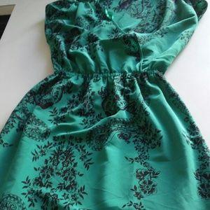 Dresses & Skirts - Mint green paisley floral dress