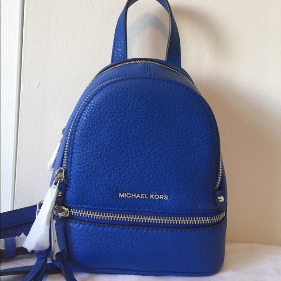 fd1da18f3d NWT Michael Kors XS rhea zip backpack