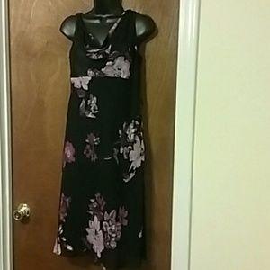 Jones New York Tulle Midi Dress