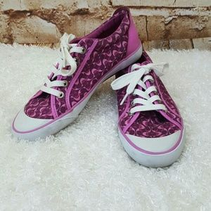 Coach Barrett signature print sneakers