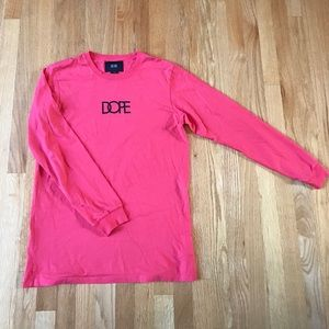 DOPE pink/red long sleeve