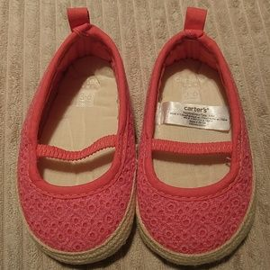 Carter's 3-6 month slip on shoes