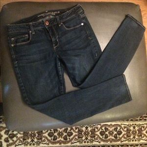 American eagle skinny jeans size 8