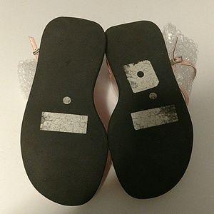 793c5557d2e5c7 Candies Shoes - Candies Baby Pink Platform Wedges sz 8