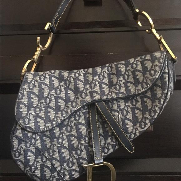 8648ef28dc4e Christian Dior Handbags - Christian Dior Saddle Bag
