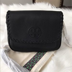 Tory Burch Marion Mini Leather Crossbody