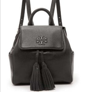 Tory Burch Thea Mini Leather Backpack