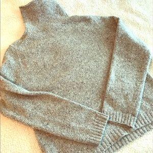 J. Crew Merino Wool and Rabbit Hair Sweater