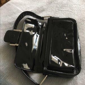 Alfani Bags - 💥Alfani patent leather purse w/silver buckle