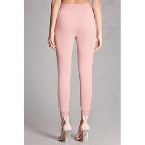 Rose pink sweatpants