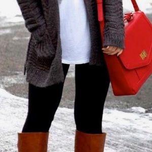  Jessica Simpson Black Fleece Leggings Tights
