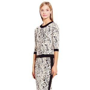 Vince Camuto Animal Print Blouse