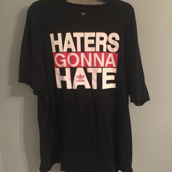Tee Adidas Hate Cotton Gonna Shirts Poshmark Haters Rw6WqUqdf