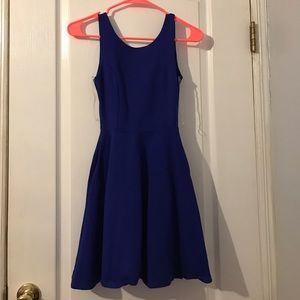 Navy blue party dress