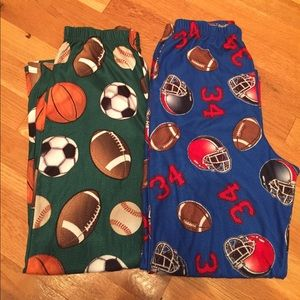Other - 2 Pairs of Boys Pajama Pants...EUC..