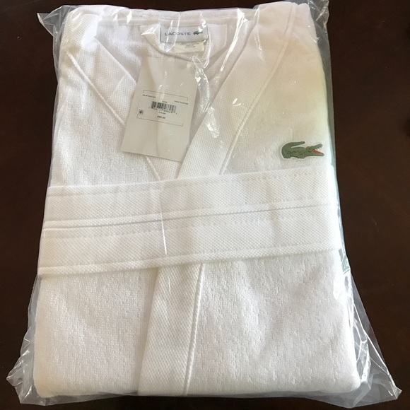 c8141d7443 🔥Lacoste Classic Pique Robe White
