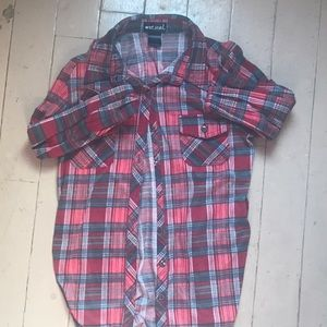 Red and grey flannel