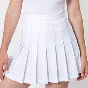 medium American apparel white tennis skirt